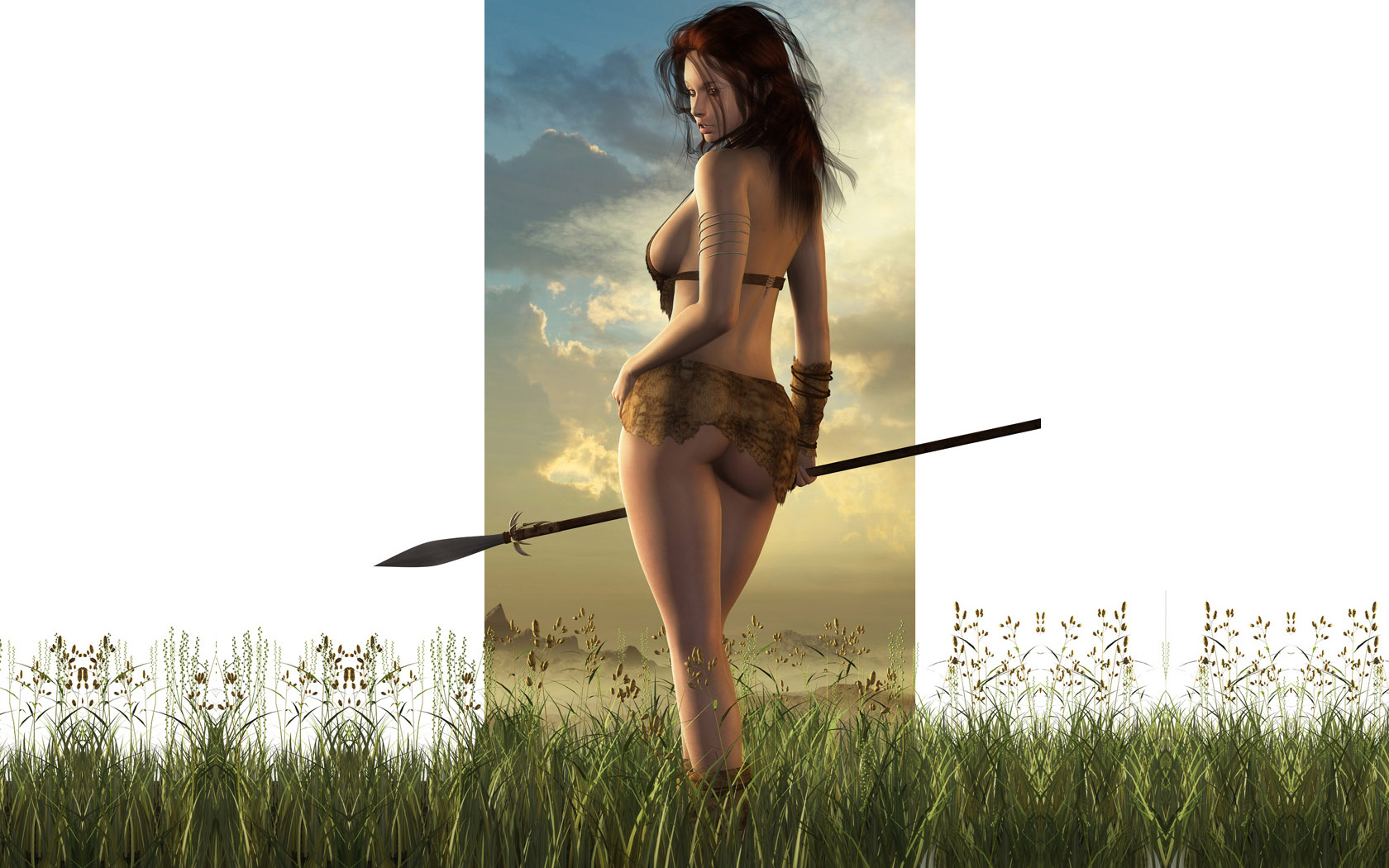 Sexy warrior girl screensaver sexual tube